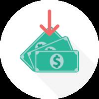 icon-cash-arrow-down-colored