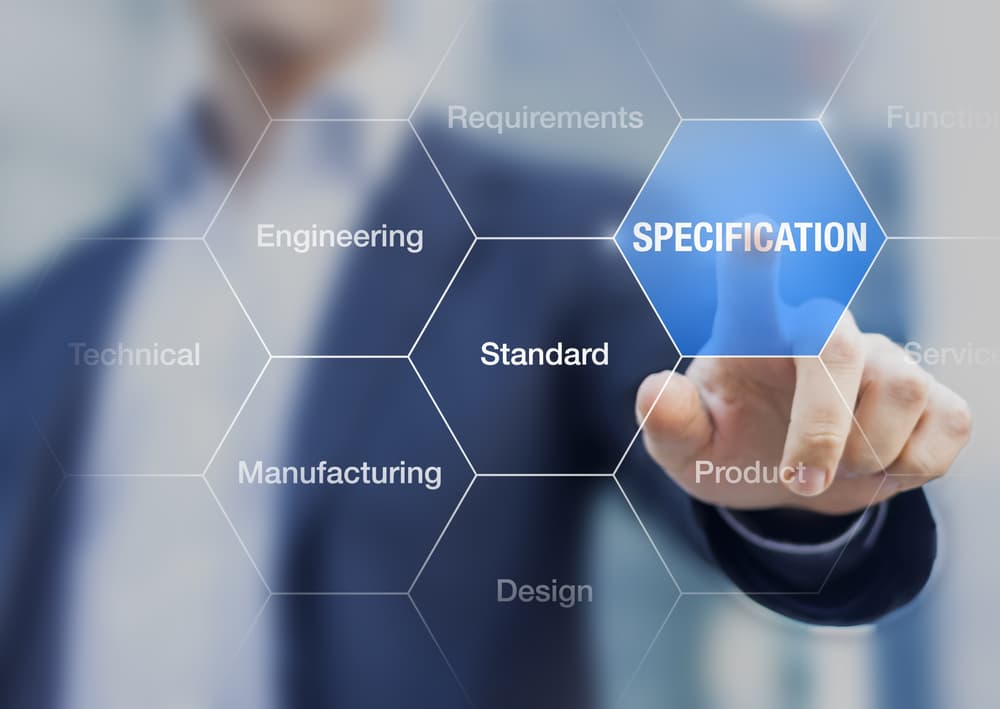 Specifications to improve manufacturing process and quality